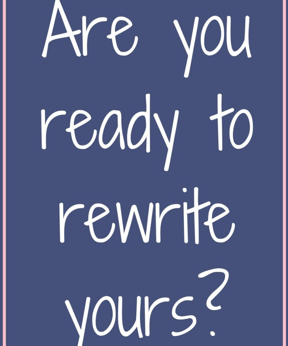 Are You Ready to rewrite yours?